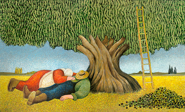 Lowell Herrero - Nap after the harvest