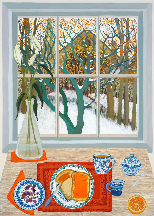 Melissa Launay - Marmalade on toast and an orange