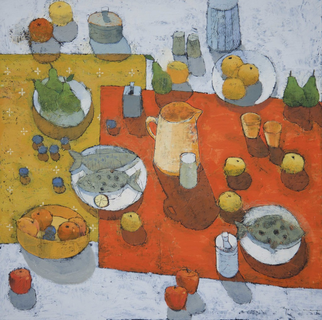 Paul Balmer - Autumn table