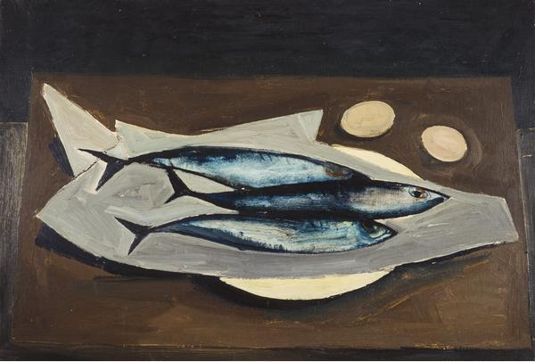 William Scott - Mackerel - 1947