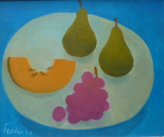 Mary fedden - Fruit with melon - 2010