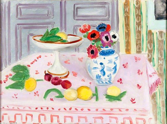 Henri Matisse - The Pink Tablecloth - 1925