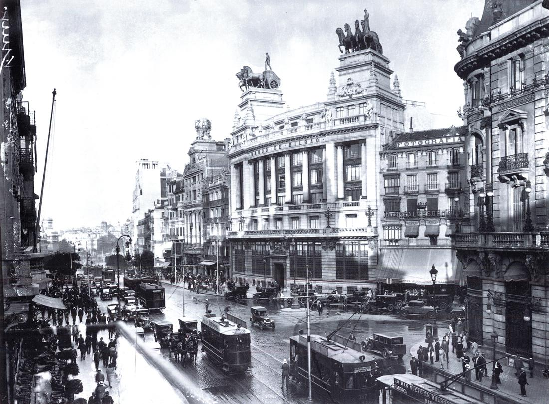 Historia de madrid en la edad contemporanea for Imagenes de epoca contemporanea