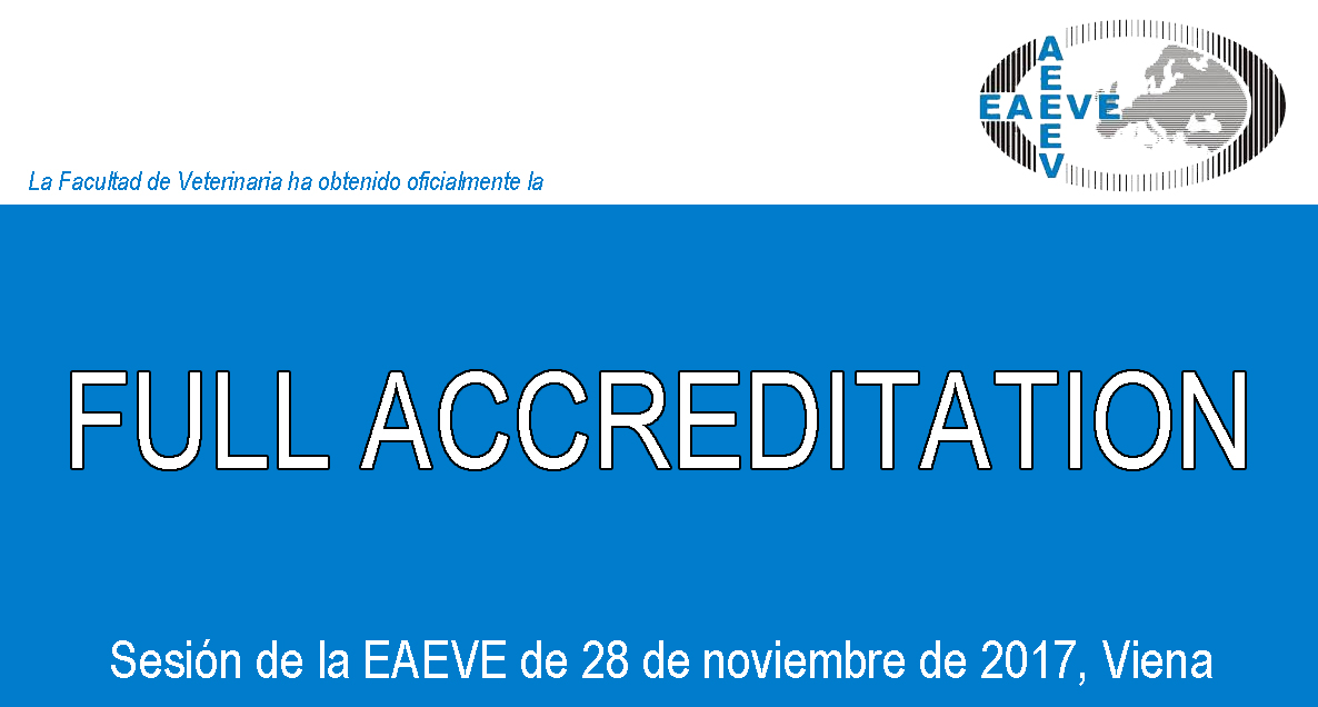 EAEVE Full Accreditation