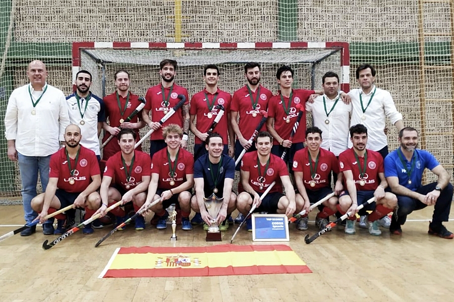El Club de Hockey Complutense, campeón del Eurohockey Indoor Club Trophy 2019