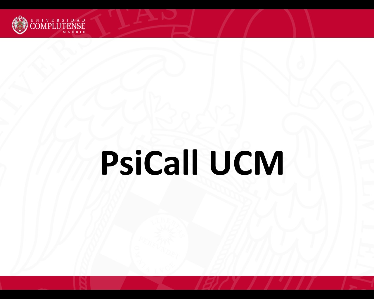 PsiCall UCM - 1