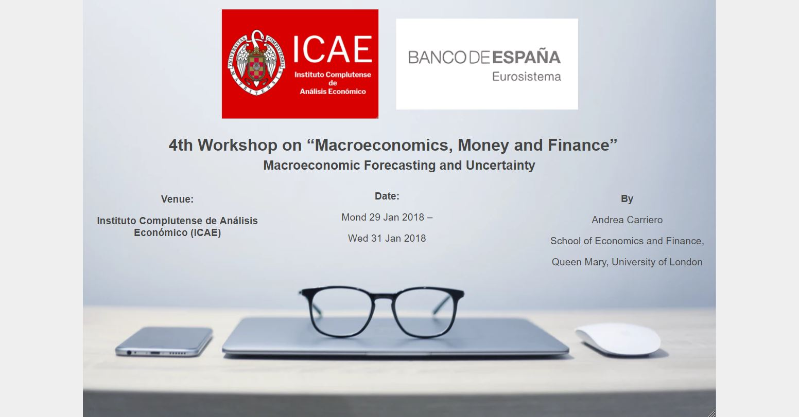 "ICAE held the IV Worshop on ""Macroeconomics, Money and Finance"""