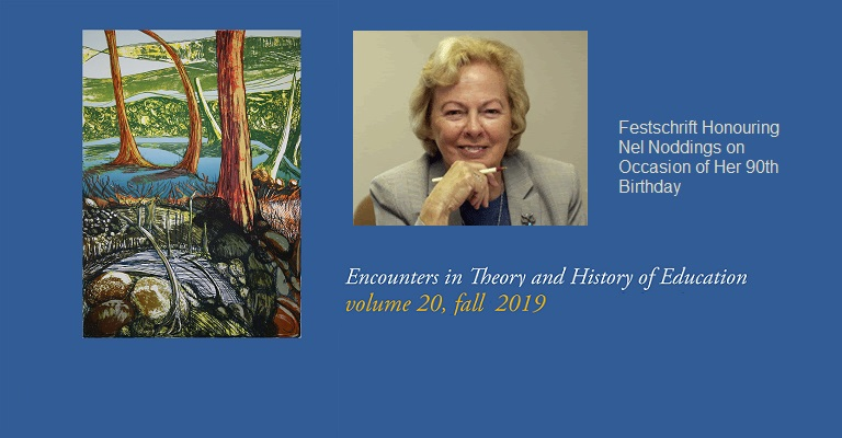 Encounters in Theory and History of Education cumple 20 años