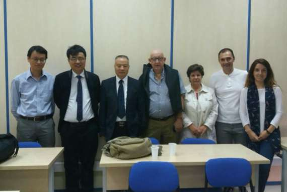 Visita Zhejiang University College of Chemical Eng & Bio. Eng. y Chinese Research Academy of Environmetal Science