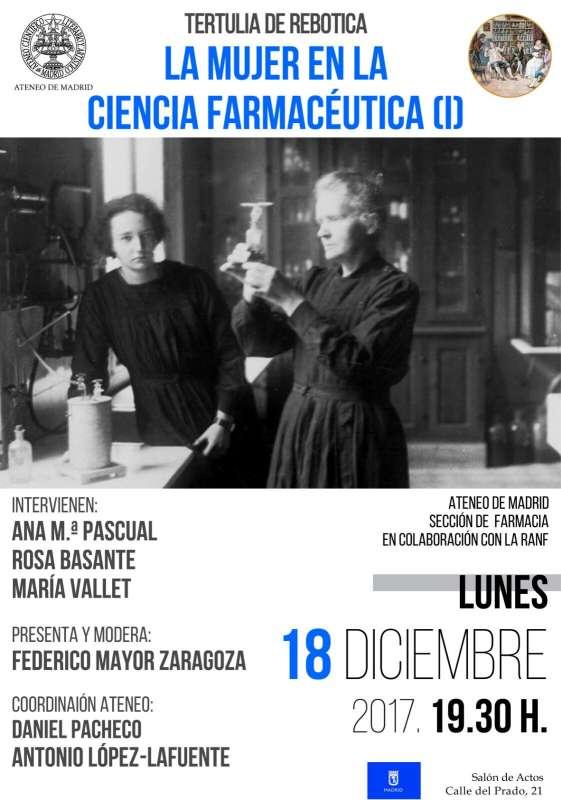 """""""Women in pharmaceutical science"""". Ateneo de Madrid - 9"""