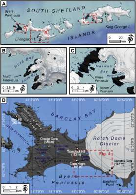 "Nueva publicación en Quaternary Science Reviews ""Timing of formation of neoglacial landforms in the South Shetland Islands (Antarctic Peninsula): Regional and global implications"""