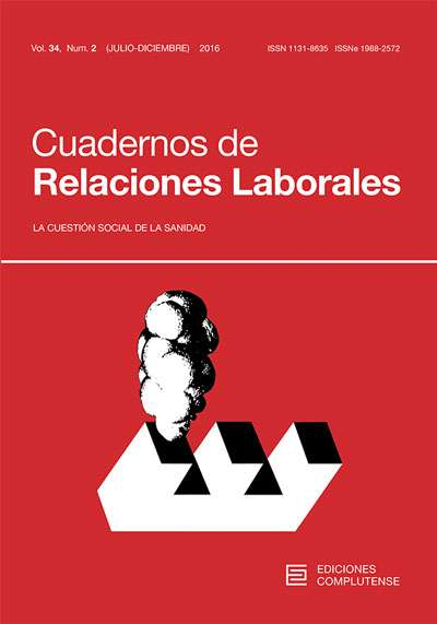 La revista 'Cuadernos de Relaciones Laborales' ha sido incluida en la prestigiosa base de datos SCOPUS - 1