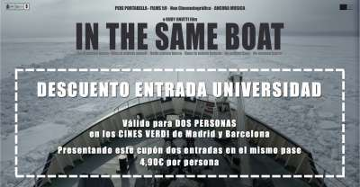 "Documental ""IN THE SAME BOAT"". Descuento UCM. - 1"