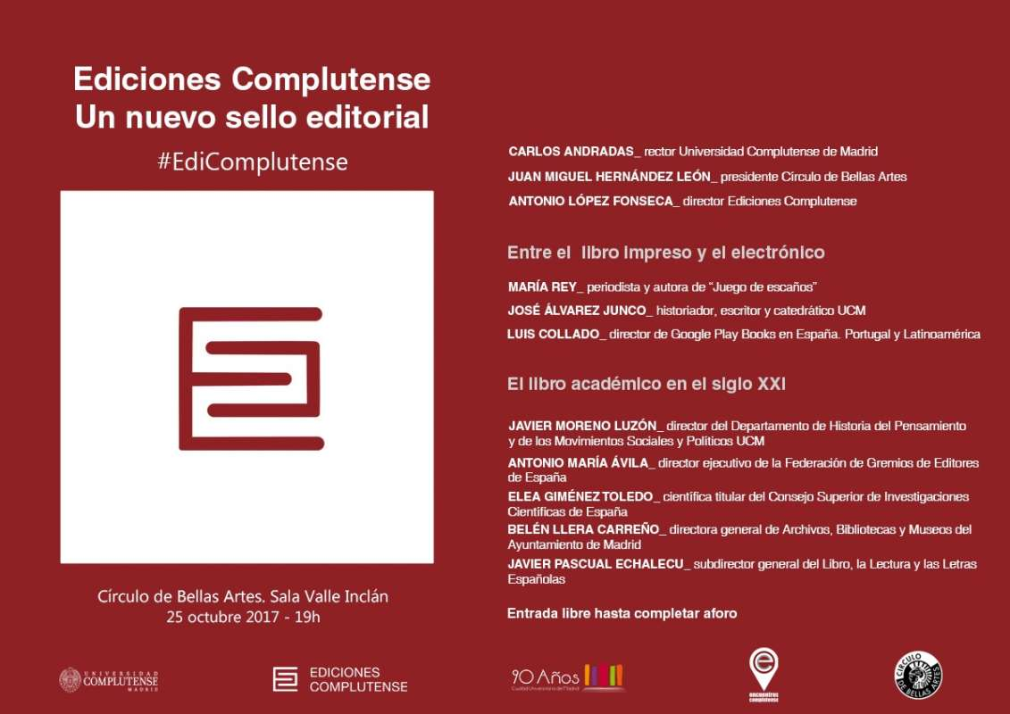 Ediciones Complutense, un nuevo sello editorial - 2