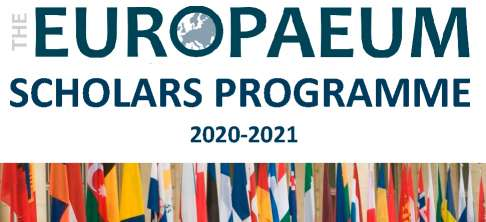 Europeaum Scholars Programme for PhD 23 January 2020