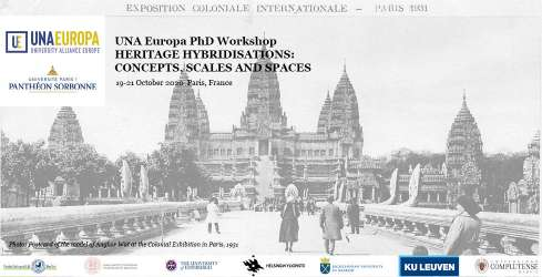 Una Europa PhD Workshop in Cultural Heritage,  19 Oct 2020 Paris