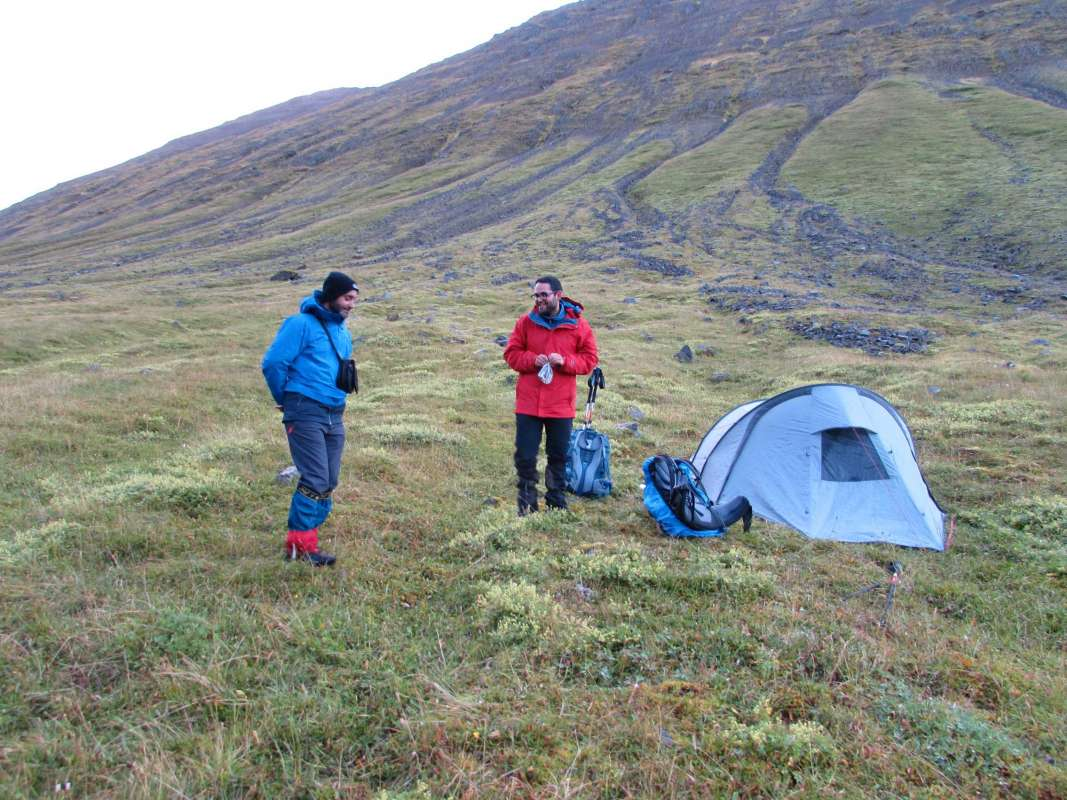 "Fieldwork of the project ""Mountain Warming"" in the Tröllaskagi mountains, Northen Iceland, has been successfully developed between 9 August and 2 September, 2018. - 4"