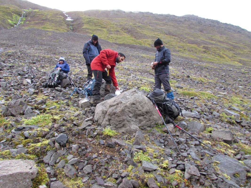"Fieldwork of the project ""Mountain Warming"" in the Tröllaskagi mountains, Northen Iceland, has been successfully developed between 9 August and 2 September, 2018. - 5"