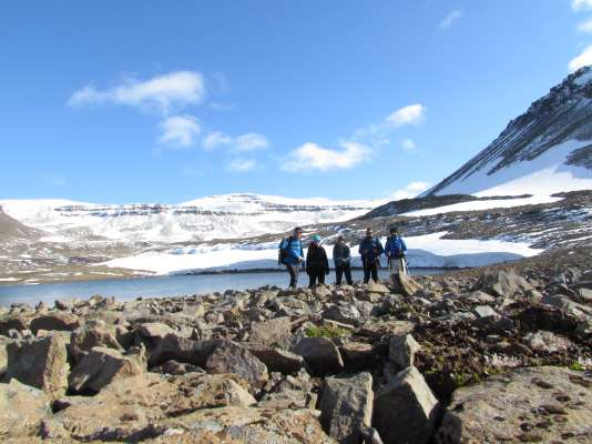 "Fieldwork of the project ""Mountain Warming"" in the Tröllaskagi mountains, Northen Iceland, has been successfully developed between 9 August and 2 September, 2018."