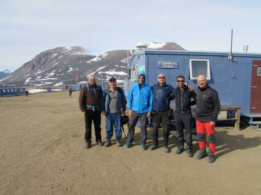 The PALEOGREEN expedition in Zackenberg, north of Greenland, has been developed with great success from July 16 to August 9, 2018