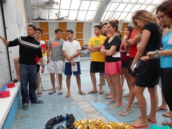 Enfermer a deporte curso ucm for Piscina complutense madrid