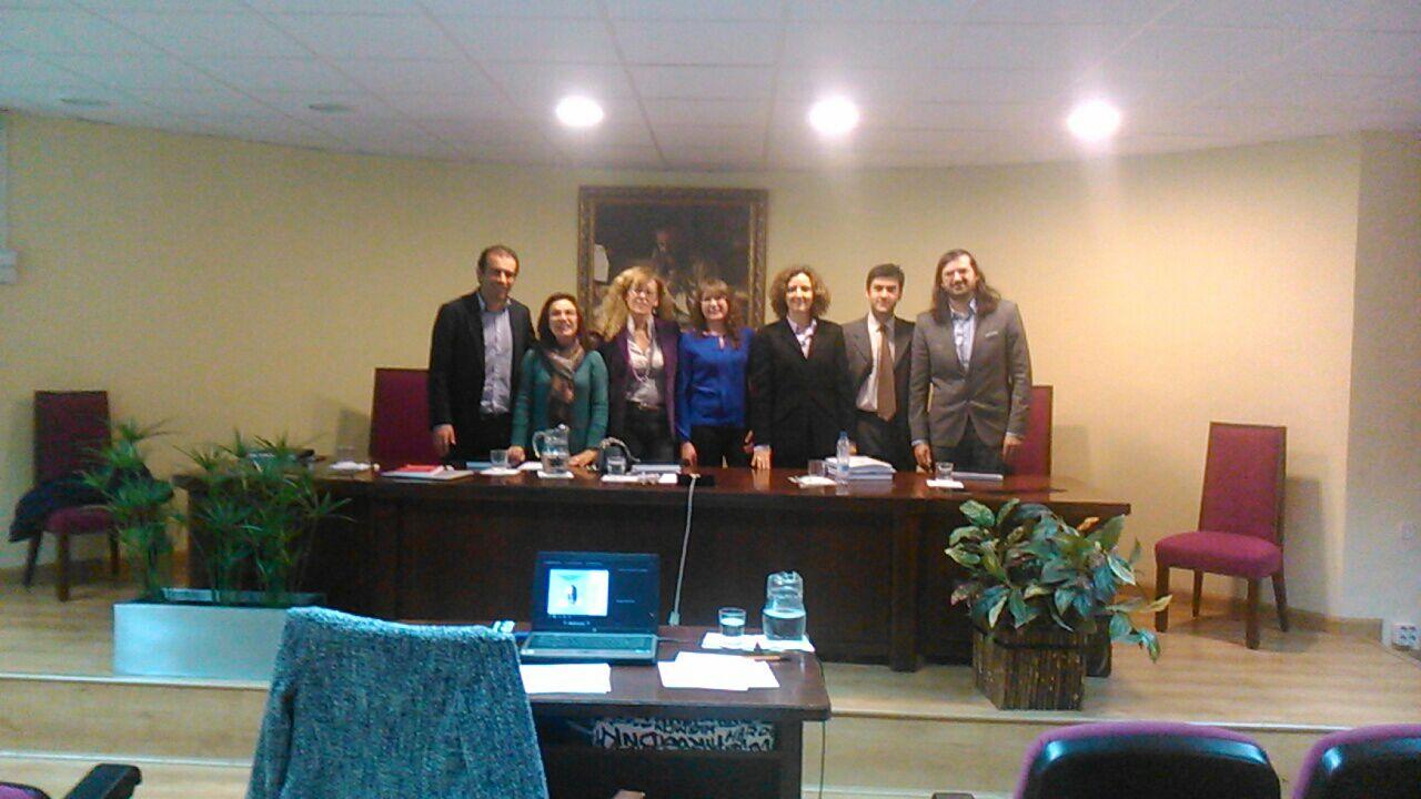 Defensa de la tesis doctoral por Dª María José Collado Mateo