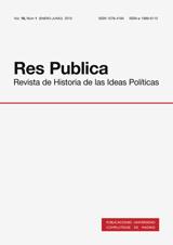 Res Publica. Revista de Historia de las Ideas Políticas Vol. 18, Núm. 1