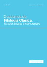 Cuadernos de Filología Clásica. Estudios griegos e indoeuropeos Vol. 25