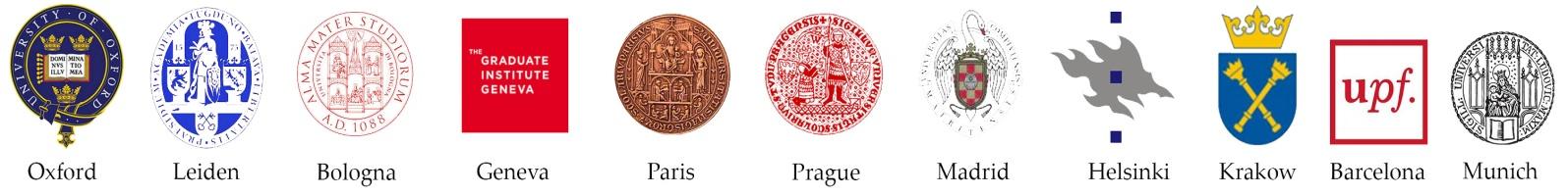 Europaeum logos de Universidades miembro