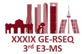 XXXIX Meeting of the Electrochemistry Group of the Royal Spanish Society of Chemistry and 3rd E3 Mediterranean Symposium: Electrochemistry for Environment and Energy