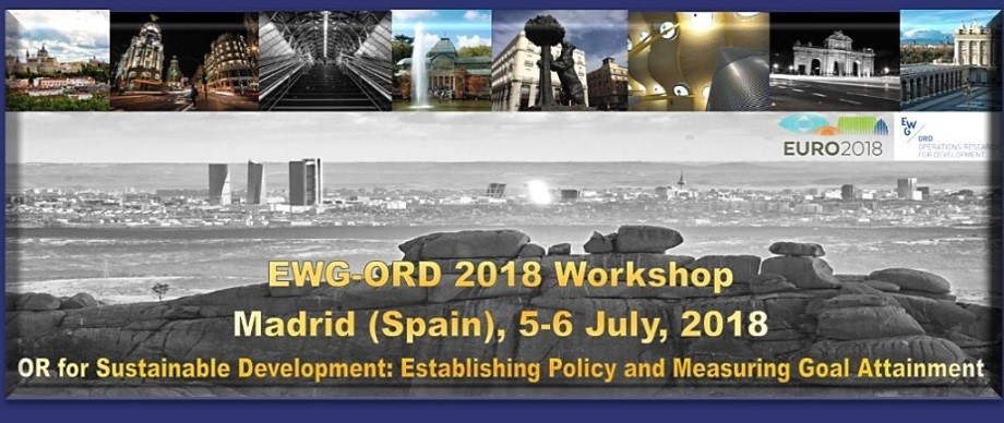EWG-ORD 2018 WORKSHOP