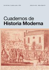 Cuadernos de Historia Moderna Vol. 41, Núm. 1
