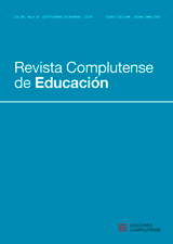 Revista Complutense de Educación Vol. 27, Núm. 3