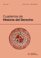 Cuadernos de Historia del Derecho Vol. 23