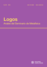 Logos. Anales del Seminario de Metafísica Vol. 49