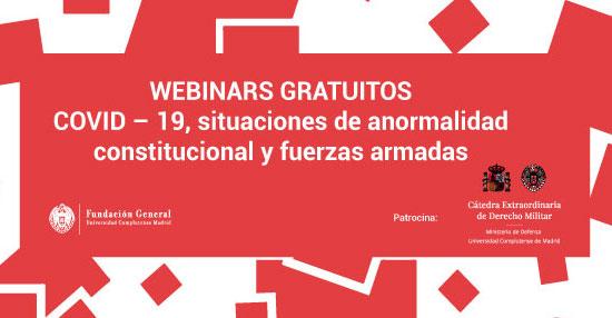 COVID – 19, SITUACIONES DE ANORMALIDAD CONSTITUCIONAL Y FUERZAS ARMADAS