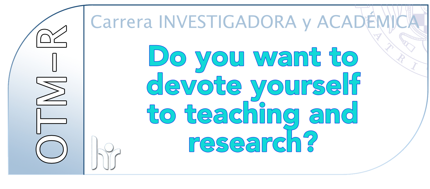 devote to teaching and research