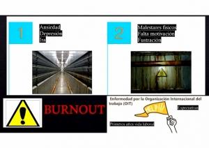 Burnout, enfermedad por la OIT