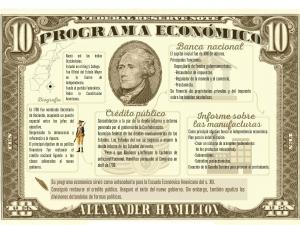 Programa económico de Alexander Hamilton