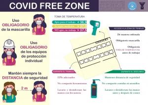 COVID free zone