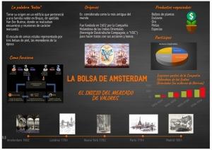 La Bolsa de Amsterdam. El inicio del mercado de valores