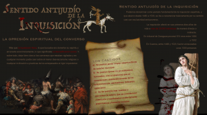 Sentido antijudío de la Inquisición