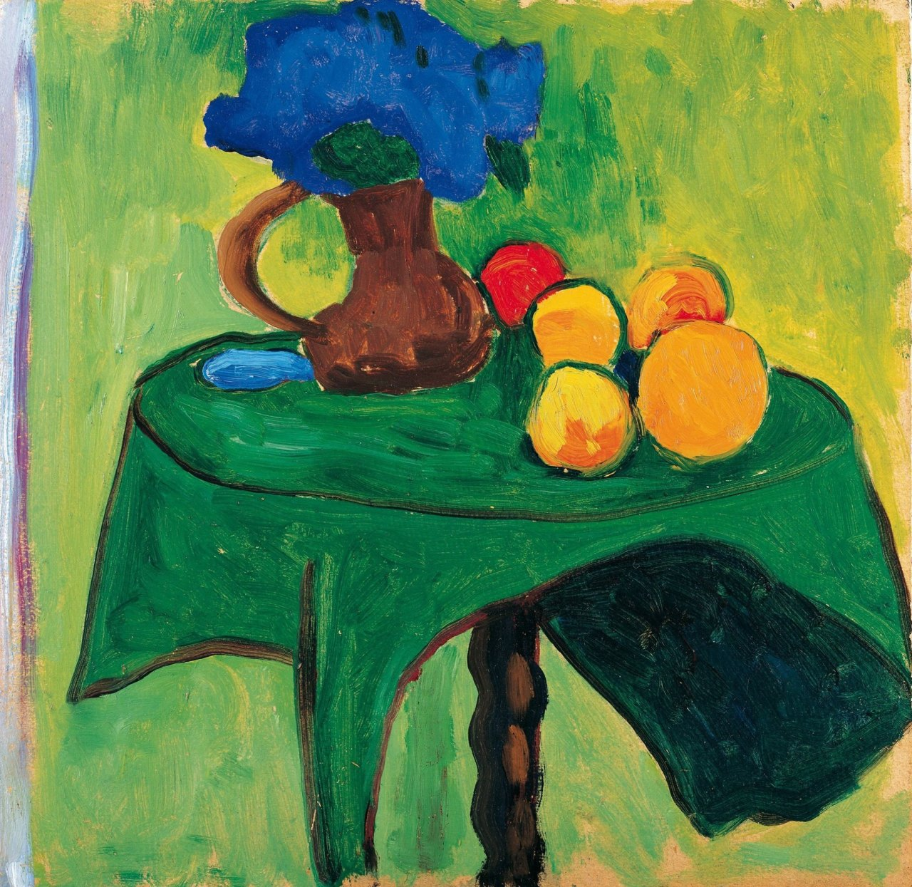 Gabriele Münter - Fruits and Flowers -1909