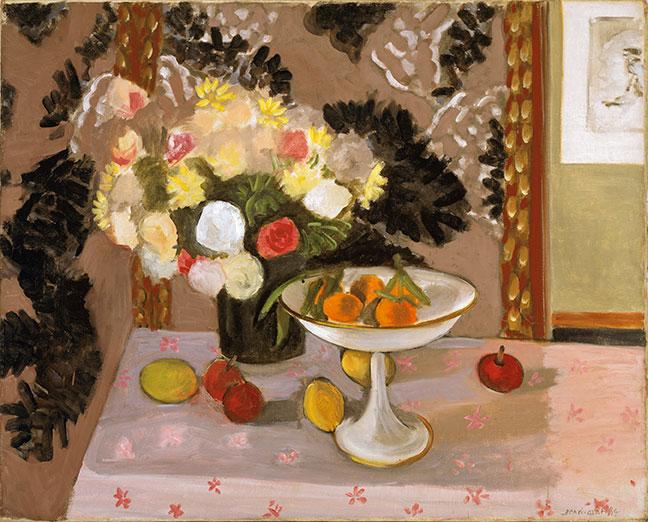 Henri Matisse - Still life,bouquet and compotier - 1924