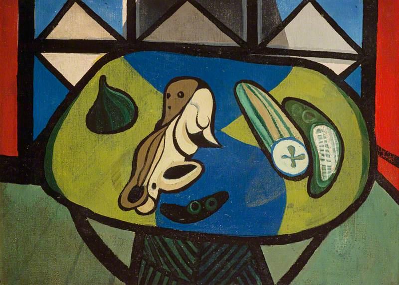 Robert MacBryde (1913–1966) Still Life with Cucumber
