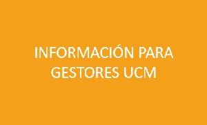 Prácticas información gestores UCM