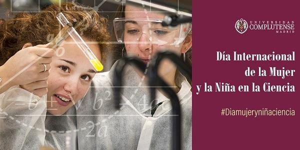 La UCM participa un año más en la celebración del Día Internacional de la Mujer y la Niña en la Ciencia. / UCM.