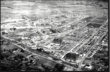 Instalaciones en Fort Detrick en Maryland (EE.UU) en 1950.