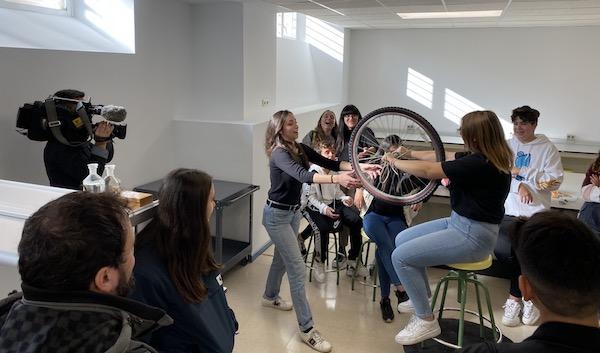 Actividad en la Facultad de Ciencias Físicas de la UCM en la edición de 2019. / M. Milán.
