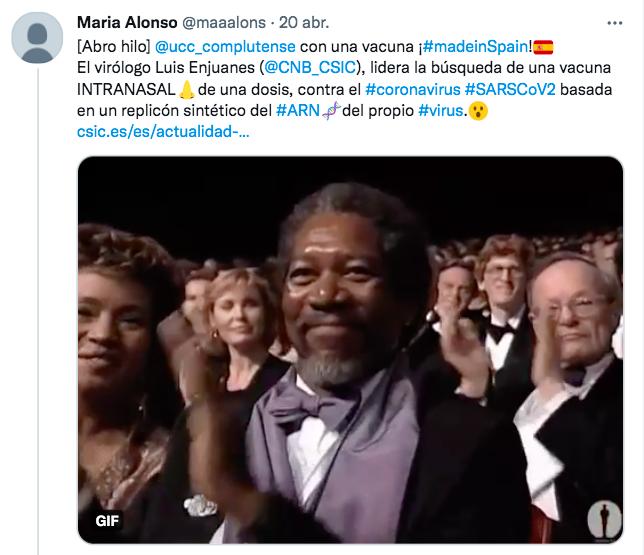"""""""Prometedora vacuna intranasal española del tipo ARNm contra SARS-CoV-2"""""""